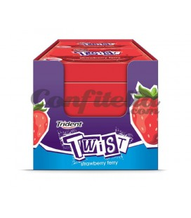 Trident Twist strawberry sugarfree gum