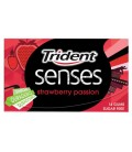 Gum Trident Senses Strawberry Passion sugarfree