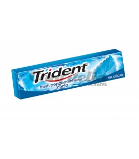 Chewing gum Trident stick mint sugarfree