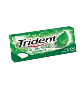 Chewing gum Trident dagrees Fresh spearmint sugarfree