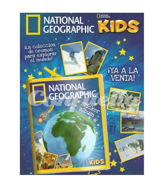 National Geographic Kids collection of Panini