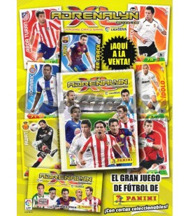 Pack lanzamiento Adrenalyn XL Liga 2012