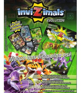 Invizimals Evolution stickers collection