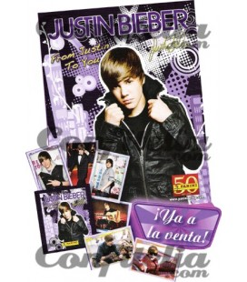 Panini's Justin Bieber collection launch pack