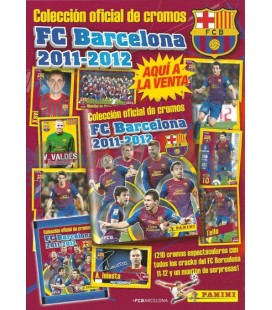 Pack de lanzamiento coleccion FC Barcelona 2012 de Panini