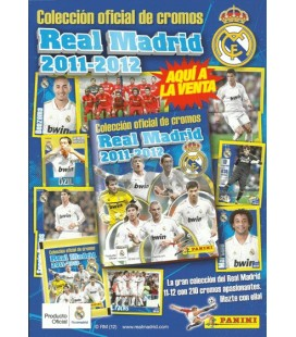 Real Madrid 2012 collection launch pack of Panini
