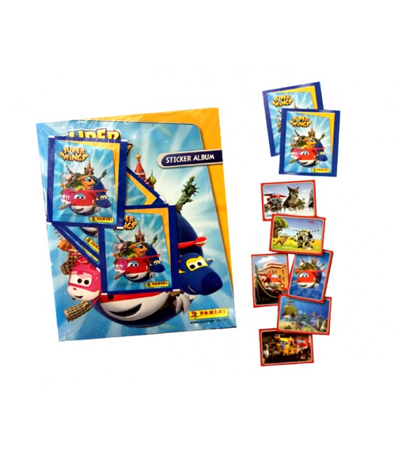 Pack de lanzamiento Super Wings de Panini