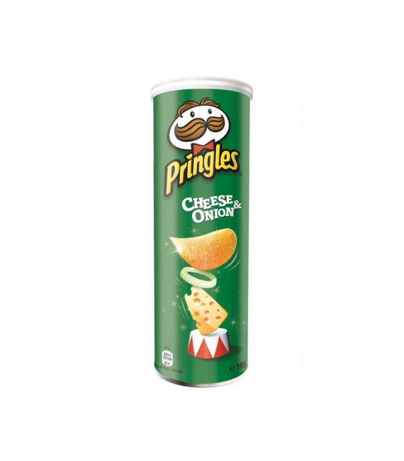 Pringles Cheese&Onion 165 gramos