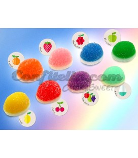 Rainbow Kisses jellies