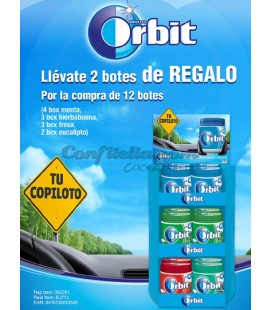 Pack ahorro chicle Orbit Box