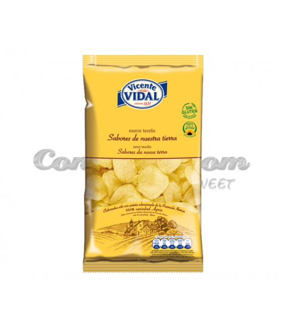 Traditional Chips Vicente Vidal 30 grs.