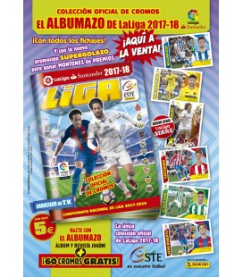 LaLiga Santander 2017-2018 launch Pack Panini