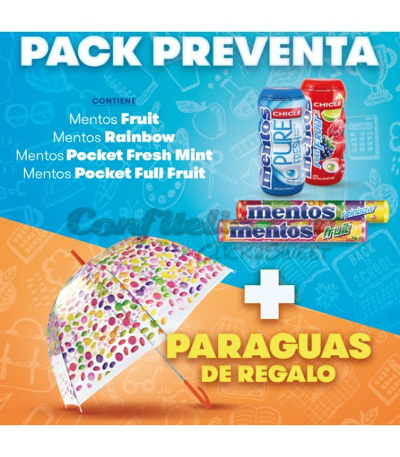 Mentos pack back to school 2017