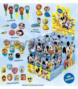 Huevos de chocolate Mickey&Friends