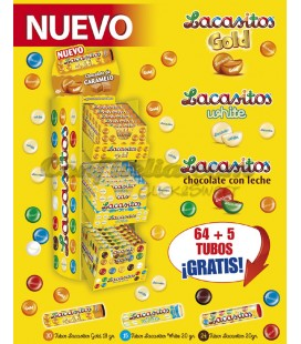 Lacasitos tube pack 64+5