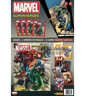 Pack lanzamiento Superheroes Marvel