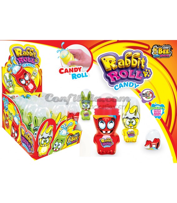 Rabbit roll candy