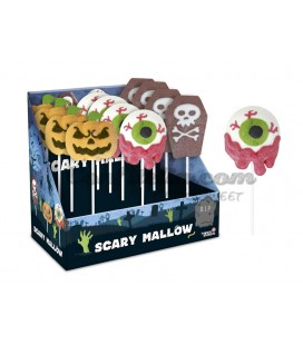 Scary Mallow skewers
