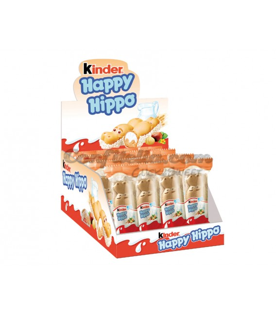 Waffer filled Kinder Happy Hippo