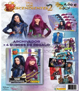 Album Los Descendientes 2 Panini