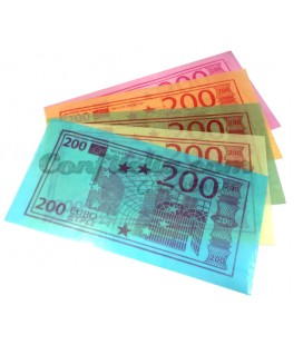 Waffer Euro banknote