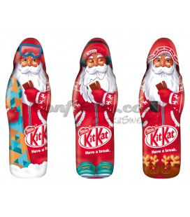 Santa Claus Kit Kat figures