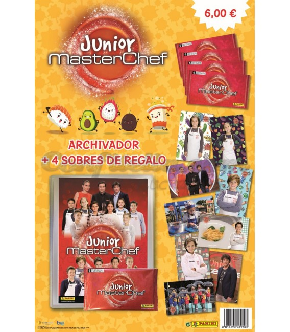 Pack lanzamiento Masterchef Junior de Panini