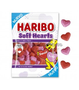 Gominolas Soft Hearts Haribo 80 grs