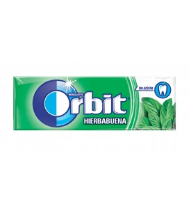 Chewing gum Orbit dagree peppermint sugarfree