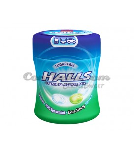 Halls Fresh candy box