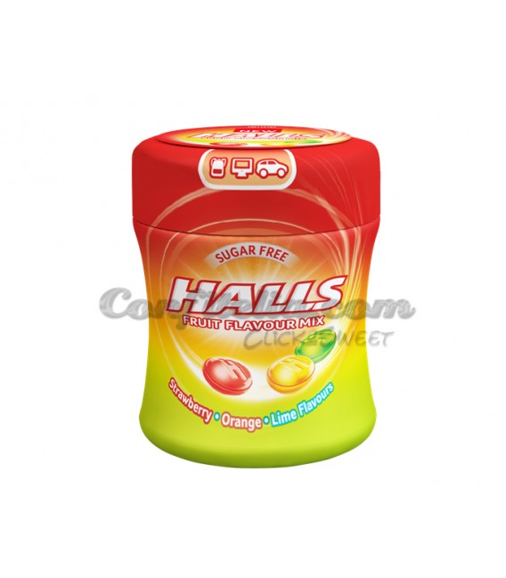 Caramelo Halls Fruits bote