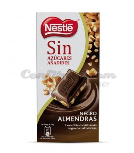 Sugar free chocolate with almonds Nestle