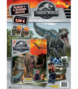 Jurassic World Panini launch pack