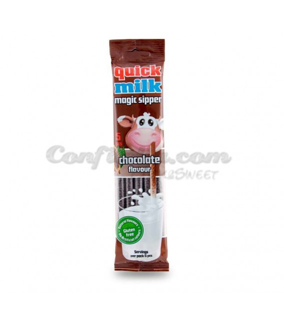 Pajitas Quick Milk chocolate