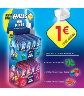 Halls Mini Mints launch pack