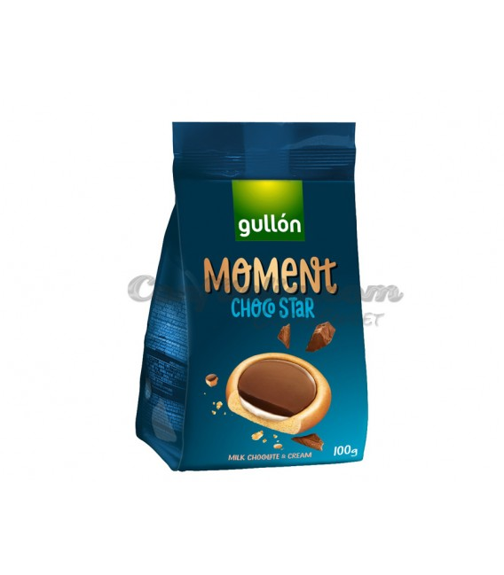 Moment Choco Star Gullon 100 grs.