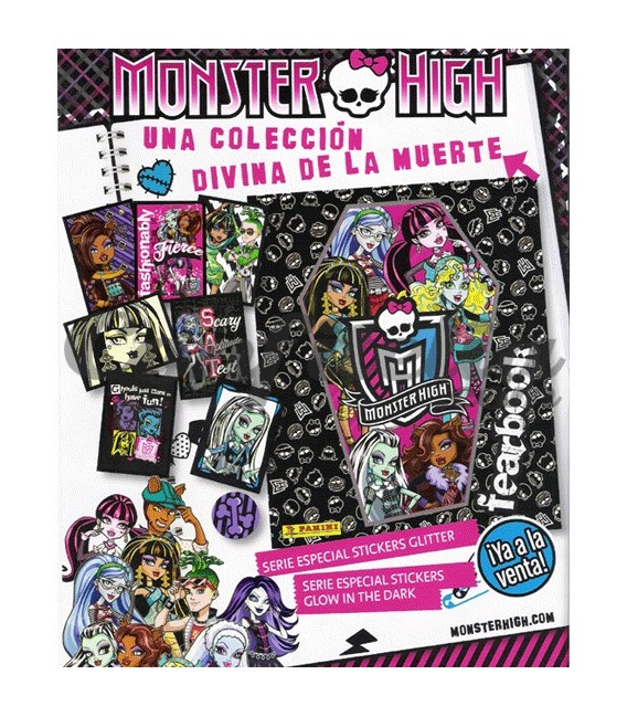 Monster High Fearbook launch pack Panini