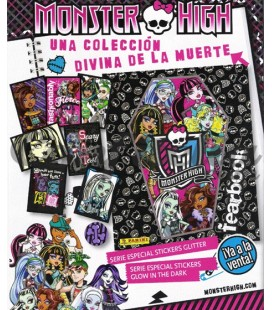 Pack lanzamiento coleccion Monster High Fearbook de Panini