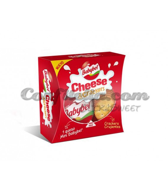 BabyBel Cheese&Crackers 40 grs.