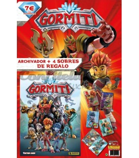 Gormiti TCG launch pack by Panini