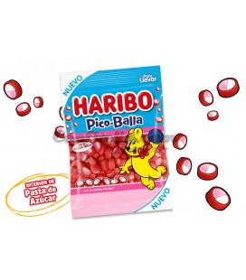 Pico Balla strawberry liquorice Haribo