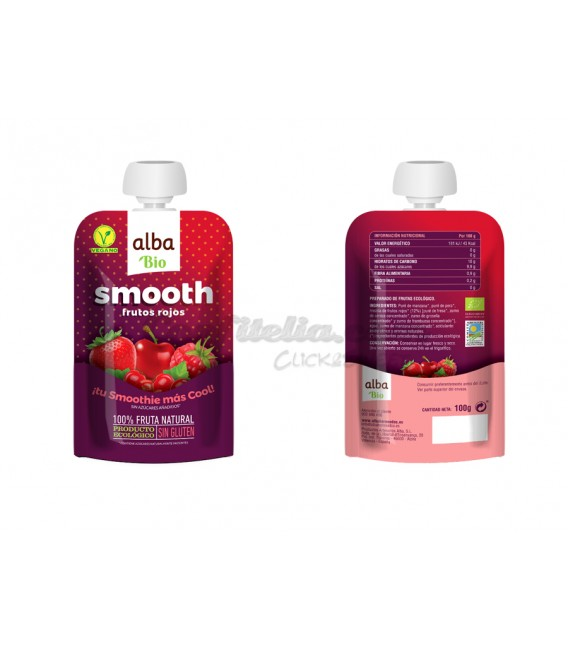 Smooth Red fruits Alba 100 g