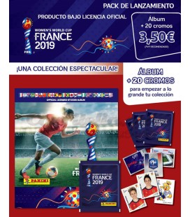 Pack lanzamiento Women's World Cup de Panini