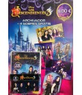 The Descendants 3 launch pack of Panini