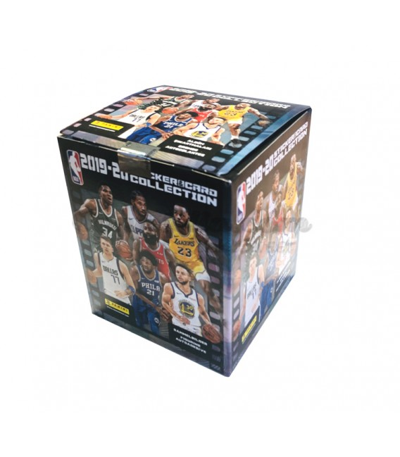 NBA 2019-2020 sticker&card collection Panini