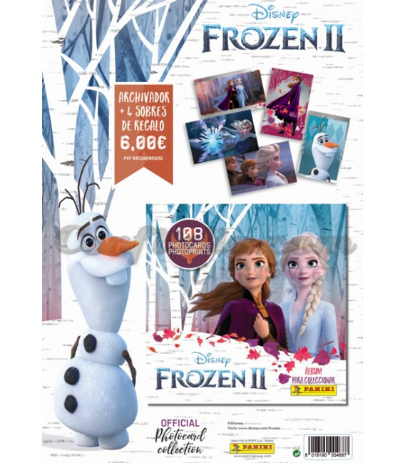 Frozen II launch pack of Panini