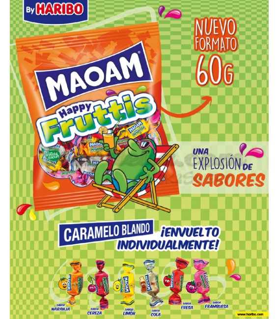 Maoam Happy Fruttis candy Haribo