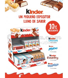 Pack chocolatinas Kinder