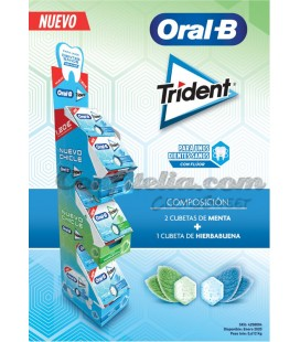 Trident Oral B gum launch pack