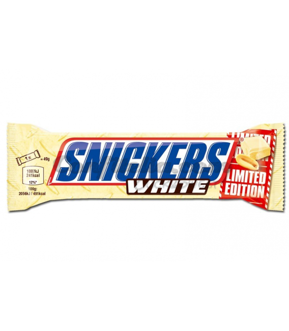 Barritas Snickers White Limited Edition